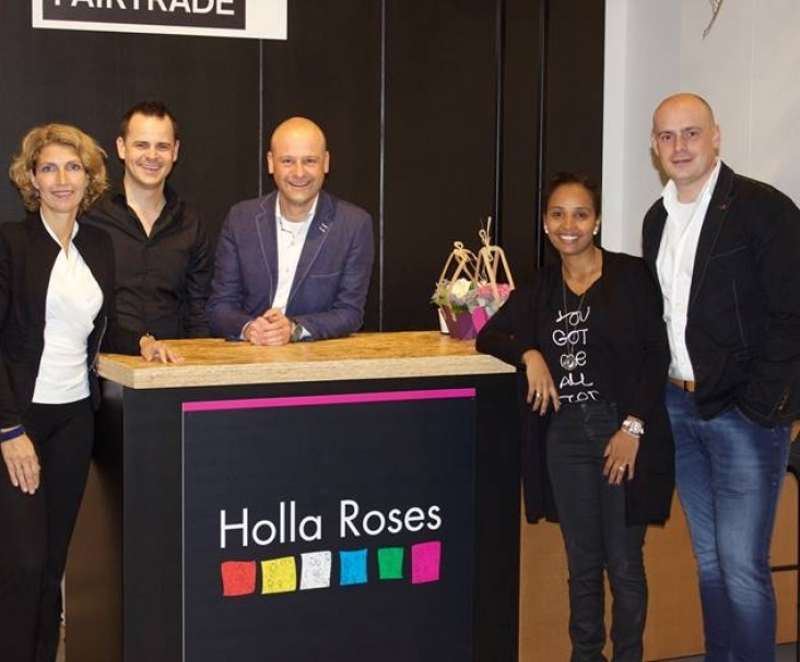 Team photo Trade Fair Aalsmeer 2016